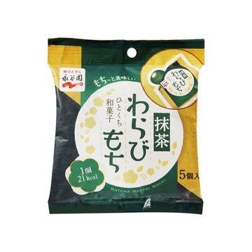 【12個入り】永谷園 ひとくち和菓子 抹茶わらびもち 89g