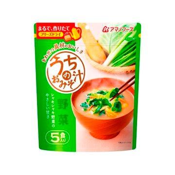 アマノフーズ うちのおみそ汁 野菜 8g x 5食 x 6個
