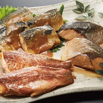 ミズノ レンジで簡単煮魚詰合6切 13003197
