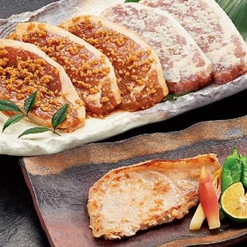 国産豚 ロース味噌漬け2種90g6枚 13004033