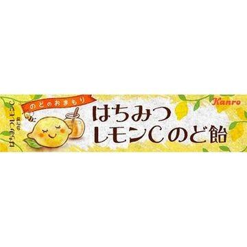 【10個入り】カンロ はちみつレモンC のど飴 11粒