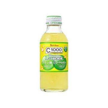 【6個入り】ハウスWF C1000ビタミン レモンクエン酸 瓶 140ml