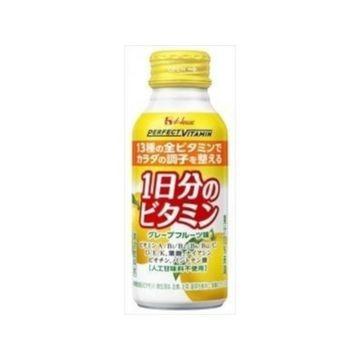【6個入り】ハウスWF パーフェクトビタミン 1日分ビタミングレープF 120ml