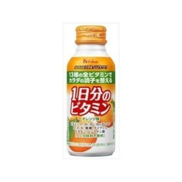 ハウスWF パーフェクトビタミン 1日分のビタミンオレンジ 120mL x 6個