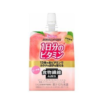 【6個入り】ハウスWF 1日分のビタミンゼリー食物繊維 180g