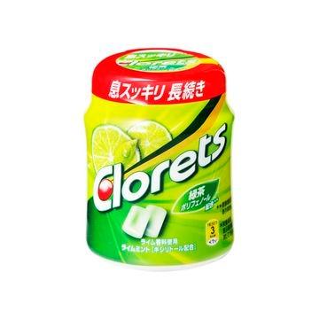 【6個入り】モンデリーズ クロレッツXP ライムミント ボトル 140g