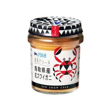 【6個入り】アヲハタ 塗るテリーヌ 鳥取県紅ズワイガニ 73g