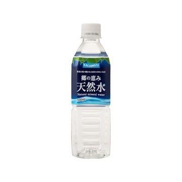 【24個入り】ミツウロコ 郷の恵み 天然水 ペット 500ml