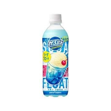 【24個入り】ポッカサッポロ がぶ飲みソーダフロート 500ml