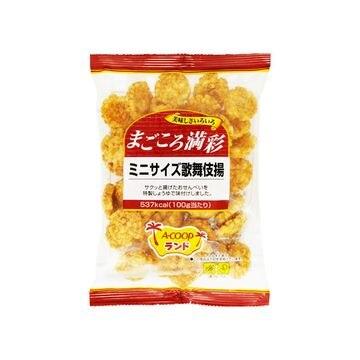 【12個入り】天乃屋 まごころ満彩 ミニサイズ歌舞伎揚 90g