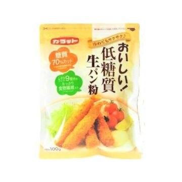 【送料無料】【15個入り】大川 カラット おいしい低糖質生パン粉 100g