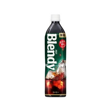 【12個入り】AGF ブレンディ 無糖 ペット 900ml