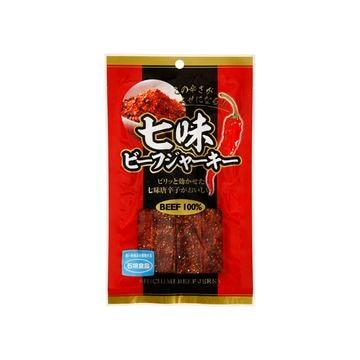 【10個入り】石垣食品 七味ビーフジャーキー JS29 29g