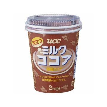 【10個入り】UCC 泡立つミルクココア カップ 2P