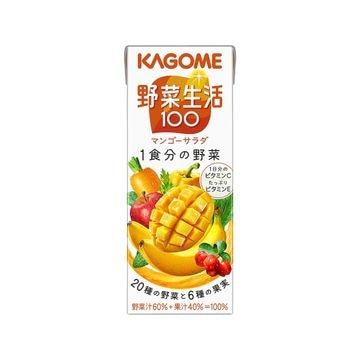【2個入り】カゴメ 野菜生活 マンゴーサラダ 紙 200x12本