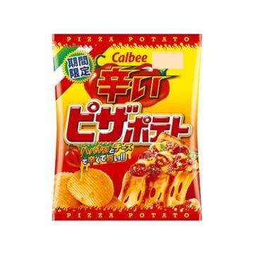 【12個入り】カルビー 辛いピザポテト 60g