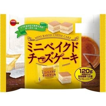 【12個入り】ブルボン ミニベイクドチーズケーキ 120g
