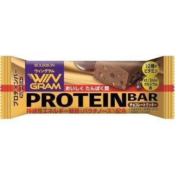 ブルボン プロテインバー チョコクッキー ウイングラム 40g x 9個