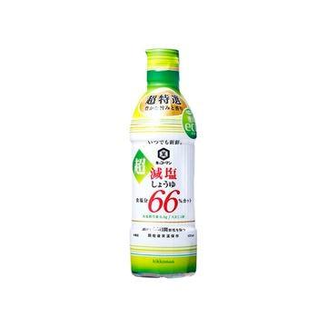 【12個入り】キッコーマン 超減塩しょうゆ 66%カット 450ml