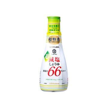 キッコーマン 新鮮 超減塩 食塩分66%カット 200mL x 6個
