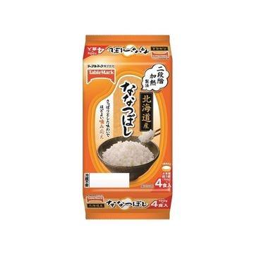 たきたてご飯 北海道産ななつぼし分割 150g x 8個