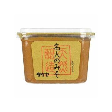 【6個入り】タケヤ味噌 名人のみそ カップ 500g