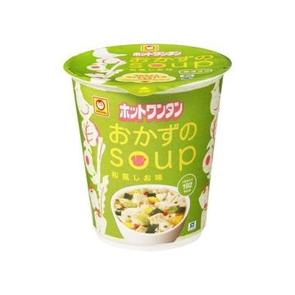 マルちゃん ホットワンタン おかずのスープ 40g x 12個