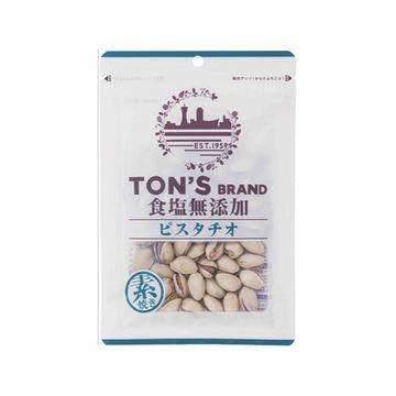 【10個入り】東洋ナッツ TON'S 食塩無添加 ピスタチオ 70g