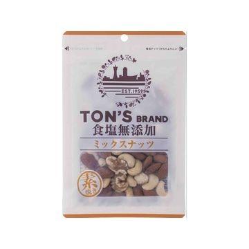 東洋ナッツ TON'S 食塩無添加 ミックスナッツ 85g x 10個