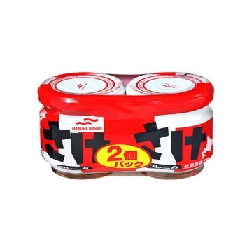 あけぼの さけフレーク 2缶シュリンク 50g x 12個