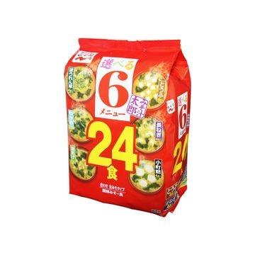 永谷園 みそ汁太郎 24食 300g x 6個