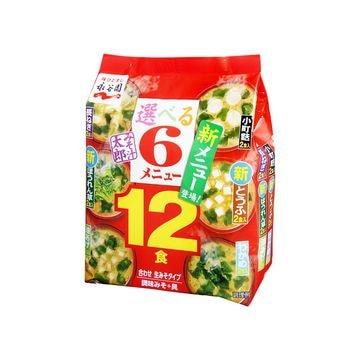 【5個入り】永谷園 みそ汁太郎 12食 162g