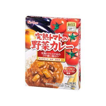 ハウス 完熟トマトの野菜カレー 180g x 10個