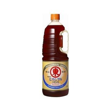 【6個入り】ヒガシマル 醤油 淡口 ハンディペット 1.8L