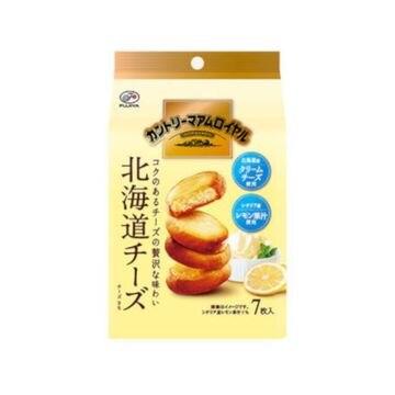 【5個入り】不二家 カントリーマアム ロイヤル 北海道チーズ 7枚