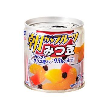 【6個入り】はごろも 朝からフルーツ みつ豆 M2号缶