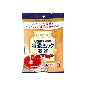 【6個入り】味覚糖 機能性表示 特濃ミルク8.2紅茶 93g