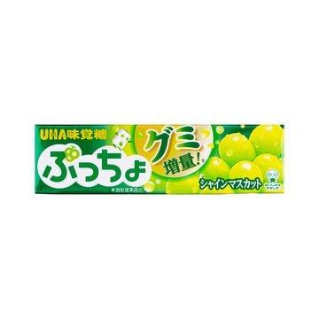 【10個入り】味覚糖 ぷっちょスティック シャインマスカット 10粒