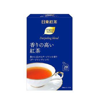 【送料無料】日東紅茶 香りの高い紅茶 ティーバッグ 2g x 6個
