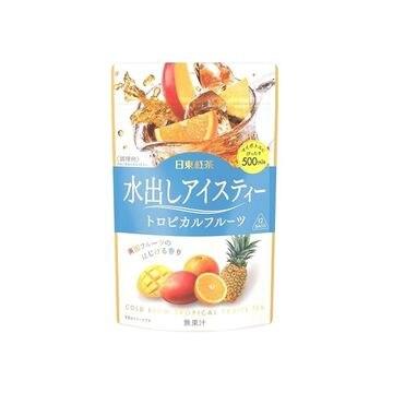 【6個入り】日東紅茶 水出アイスティー トロピカルフルーツ ティーバッグ 4g