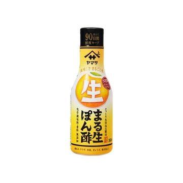 【送料無料】ヤマサ まる生ぽん酢 ソフトボトル 360mL x 12個