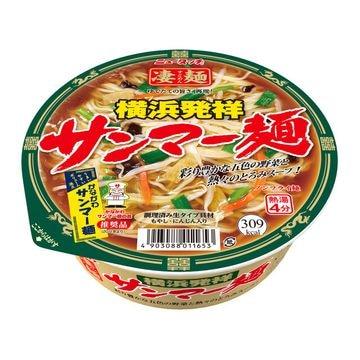 ニュータッチ 凄麺 横浜発祥サンマー麺 113g x 12個