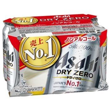 【4個入り】アサヒ ドライゼロ 6缶パック 350
