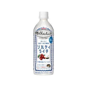 【24個入り】キリン 世界のキッチンから ソルティライチ 500ml