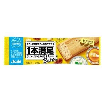 【9個入り】アサヒ 1本満足 ベイクド ハニークリームチーズ 1本