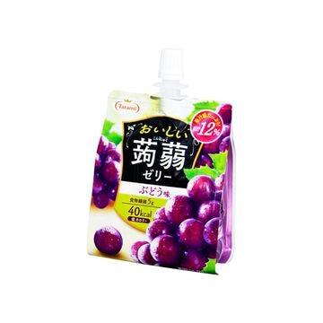 【6個入り】たらみ おいしい蒟蒻ゼリー ぶどう味 150g