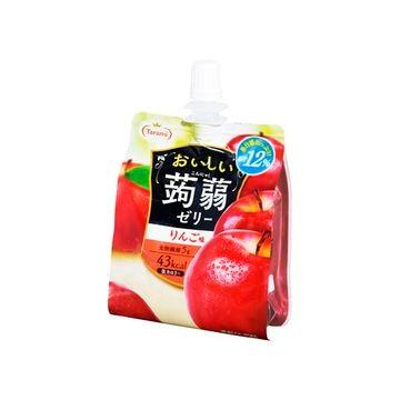 【6個入り】たらみ おいしい蒟蒻ゼリー りんご味 150g