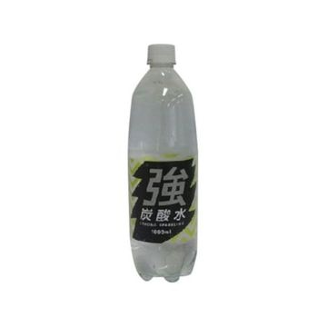 【15個入り】友桝飲料 強炭酸水 ペット 1L