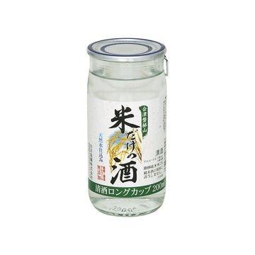【5個入り】白河銘醸 会津磐梯山 米だけの酒 カップ 200ml