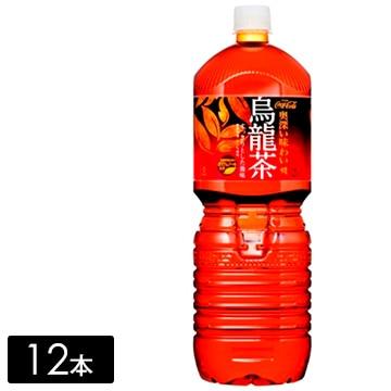 煌 烏龍茶 ペコらくボトル 2L×12本